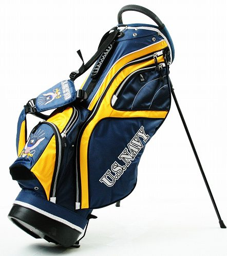 Image 1 Of 3 New Us Navy Fairway Stand Bag