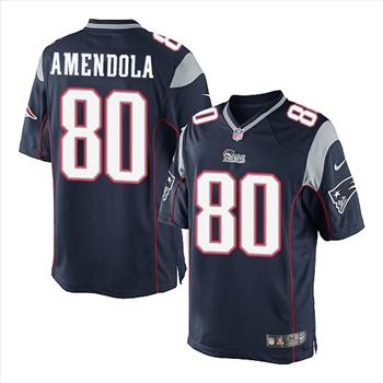 NFL New England Patriots Danny Amendola Nike Game Jersey Size Large