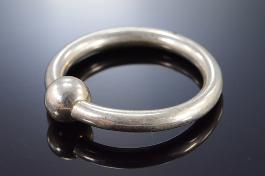 Sterling Silver Tiffany & Co. Simple Baby Rattle Ring