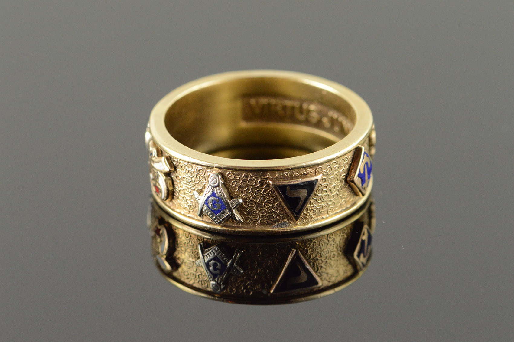 K Yellow Gold Diamond Ring