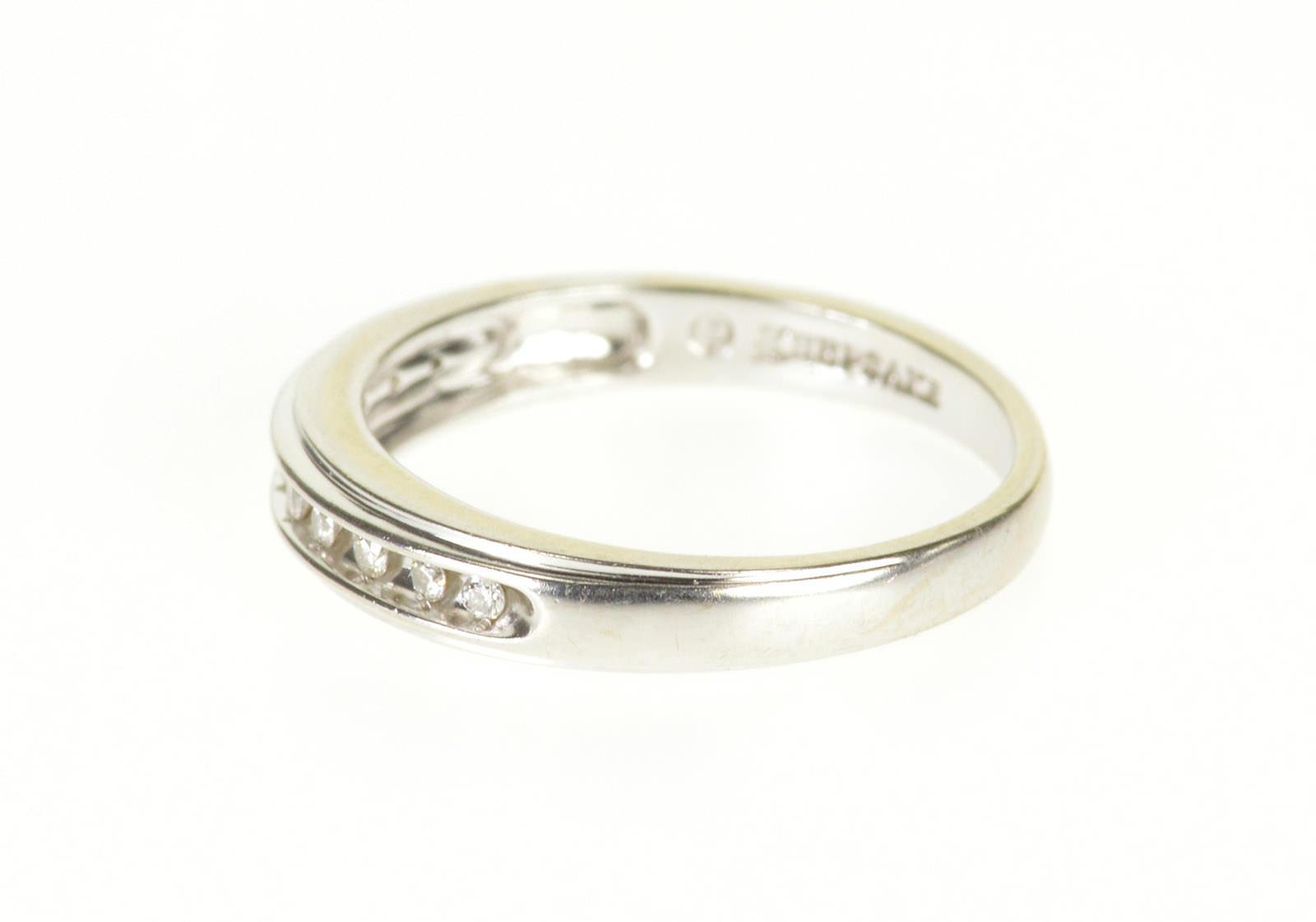 Free Shipping 14k 0 10 Ctw Channel Inset Diamond Wedding