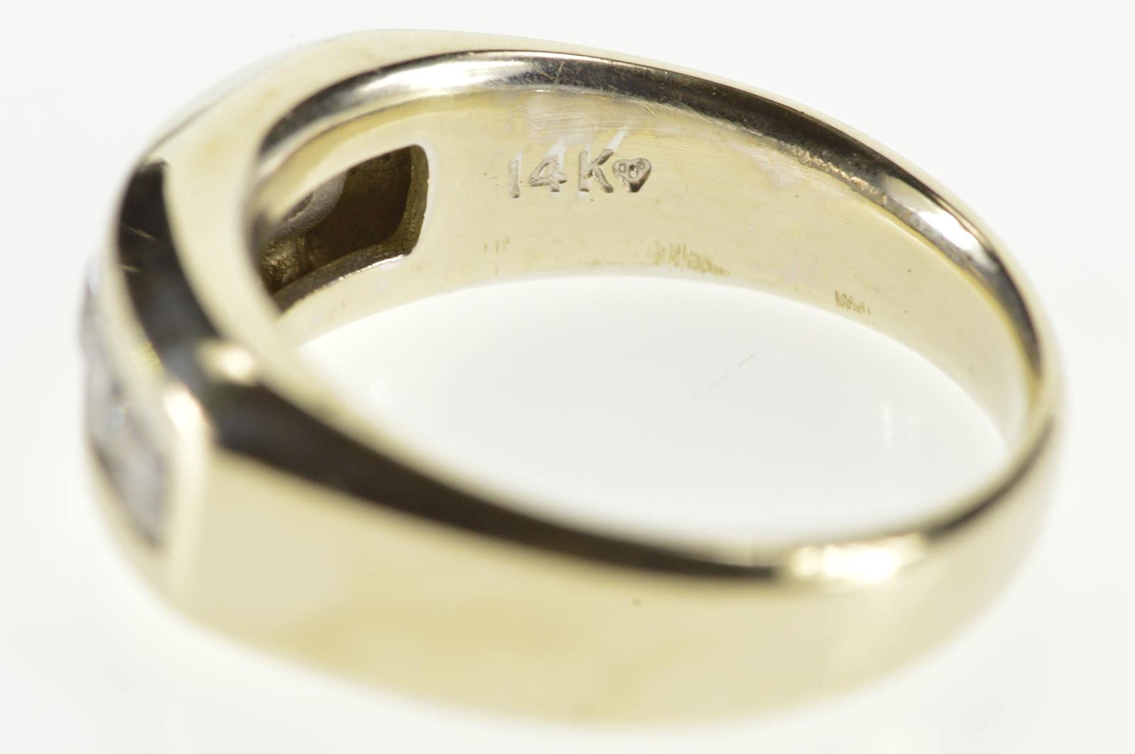 14k 1 00 Ctw Channel Inset Diamond Wedding Band White Gold