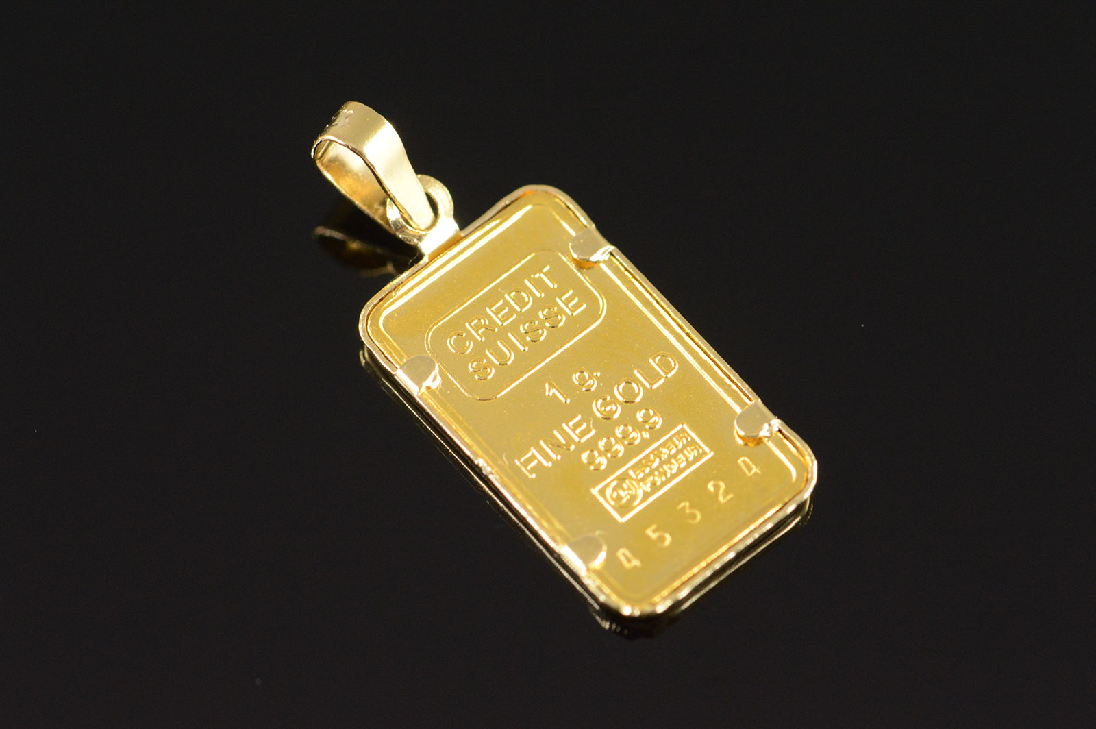 14k 13g 1 gram 999 pure gold bar yellow gold pendant property room 14k 13g 1 gram 999 pure gold bar yellow gold pendant mozeypictures Image collections