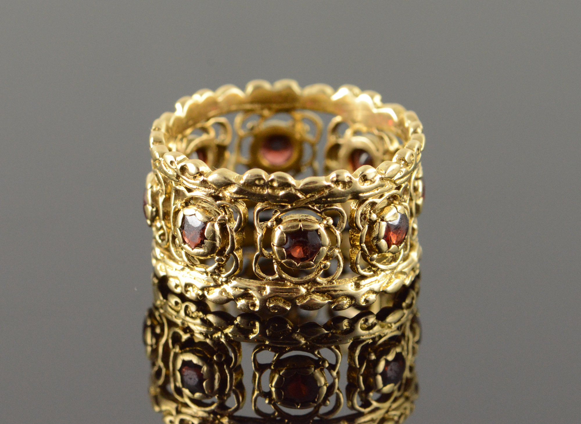 Garnet And Pearl Jewelry