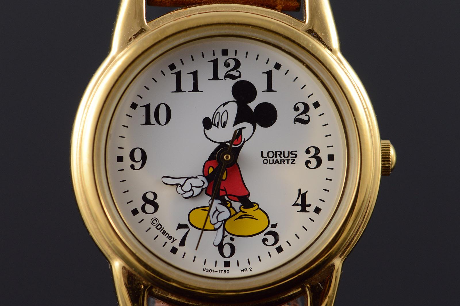 26mm Lorus Quartz Mickey Mouse Watch Women S Property Room