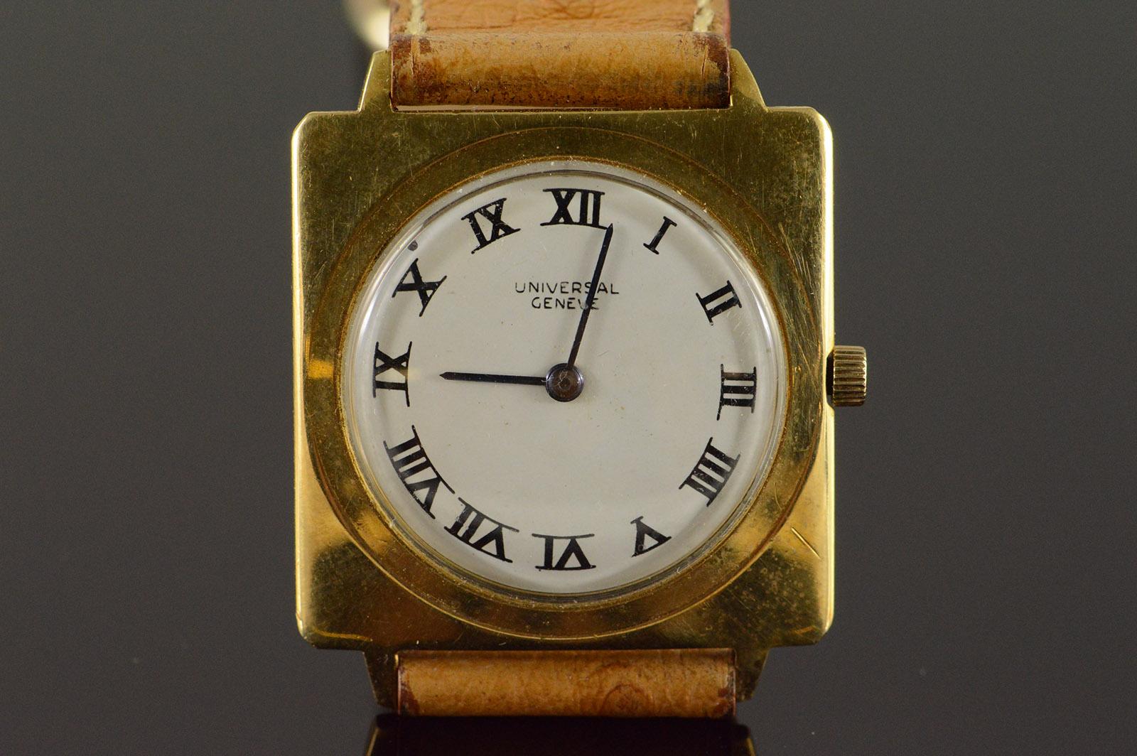 28mm Universal Geneve Classic Roman Numeral Watch - Women's