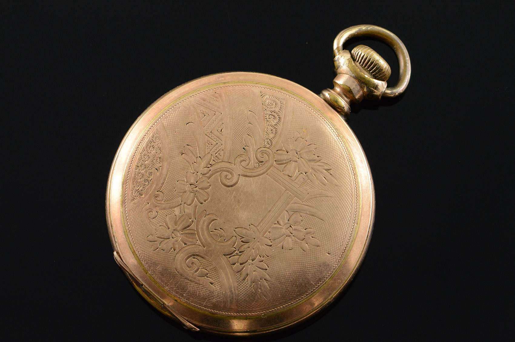 Elgin 1903 46mm Hunter Case 7 Jewel 6s Pocket Watch