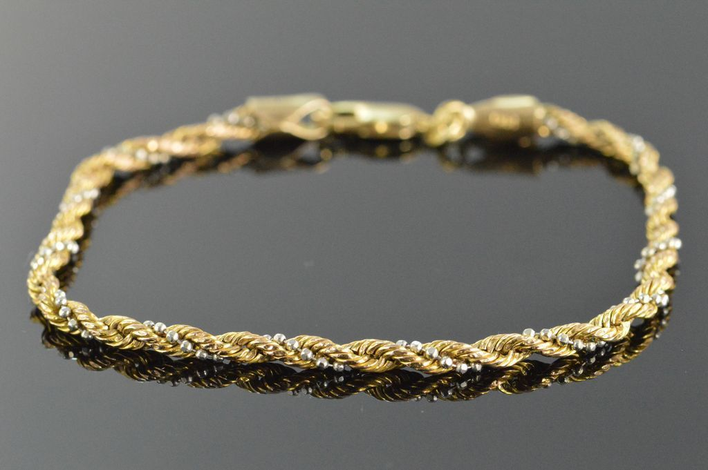 Image 1 Of 4 Gold Rope