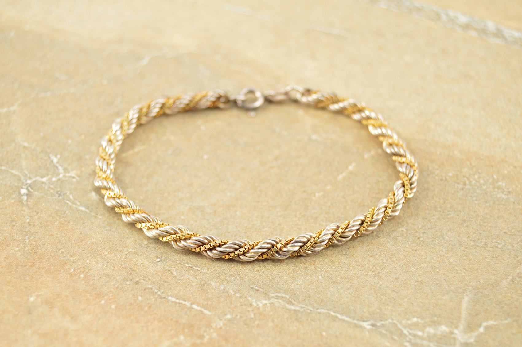 Fine Bracelets Active Sterling Silver Twist Mesh Bracelet