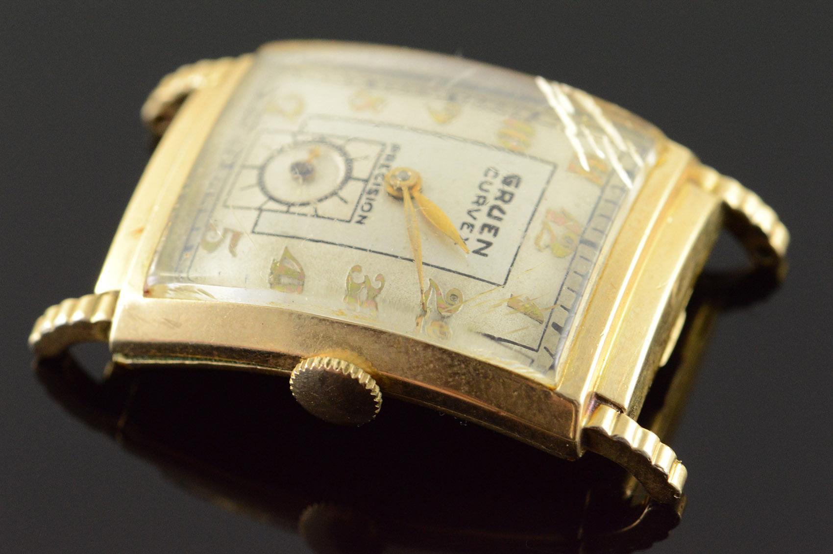 vintage gruen curvex precision 17 jewel watch men 39 s property room