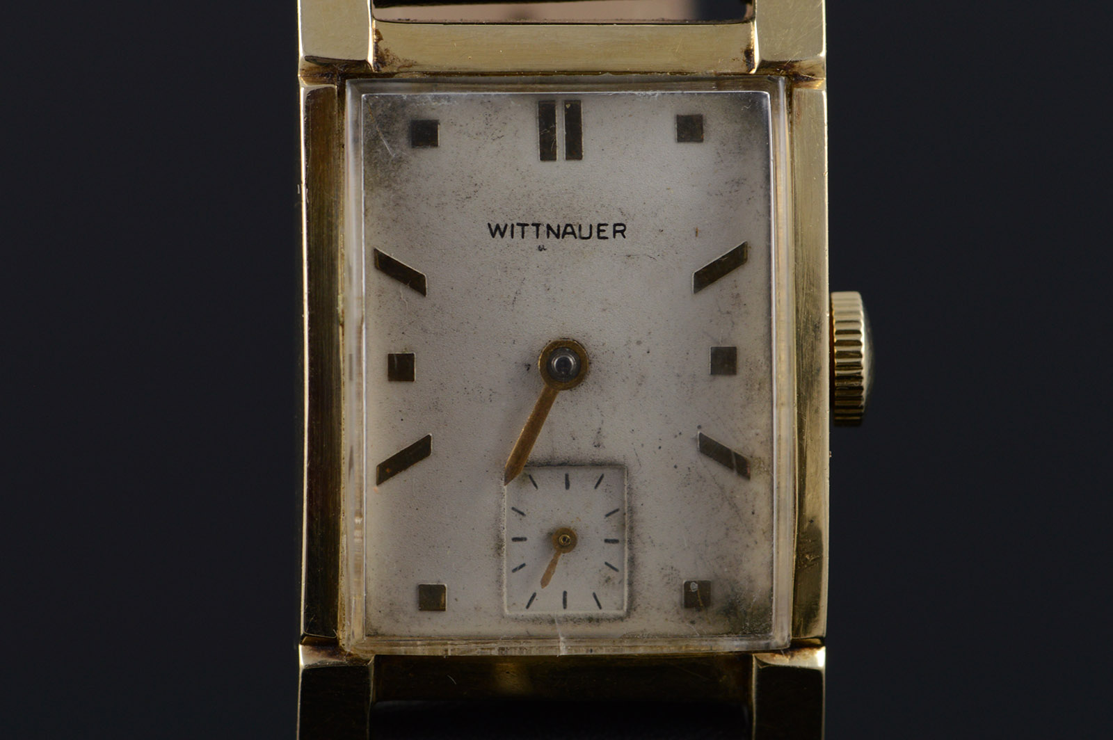 Wittnauer Watch Value >> Vintage Wittnauer 17 Jewel Mechanical 22mm Tank Style