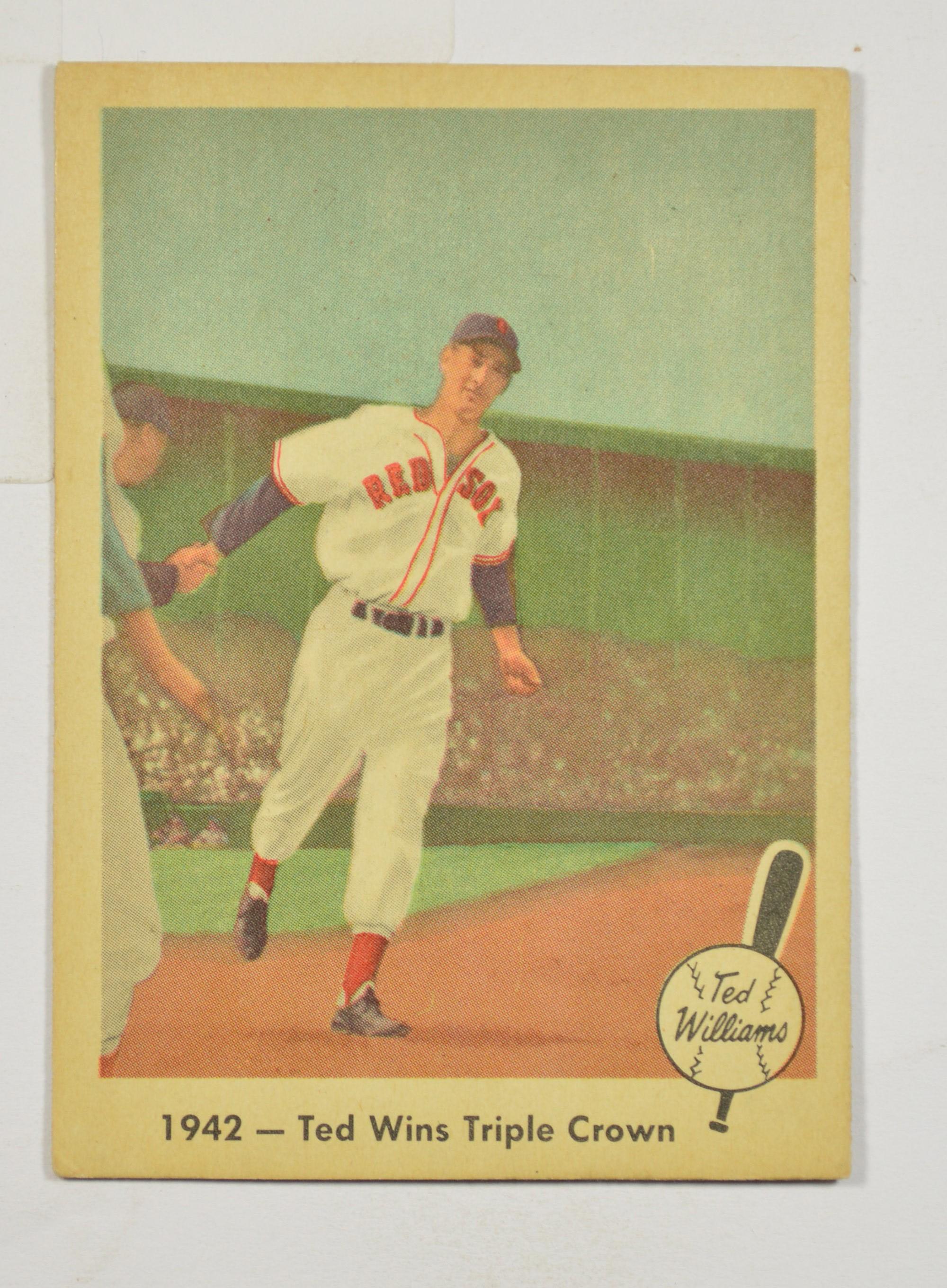 1959 Fleer Ted Williams Baseball Card 19 Property Room