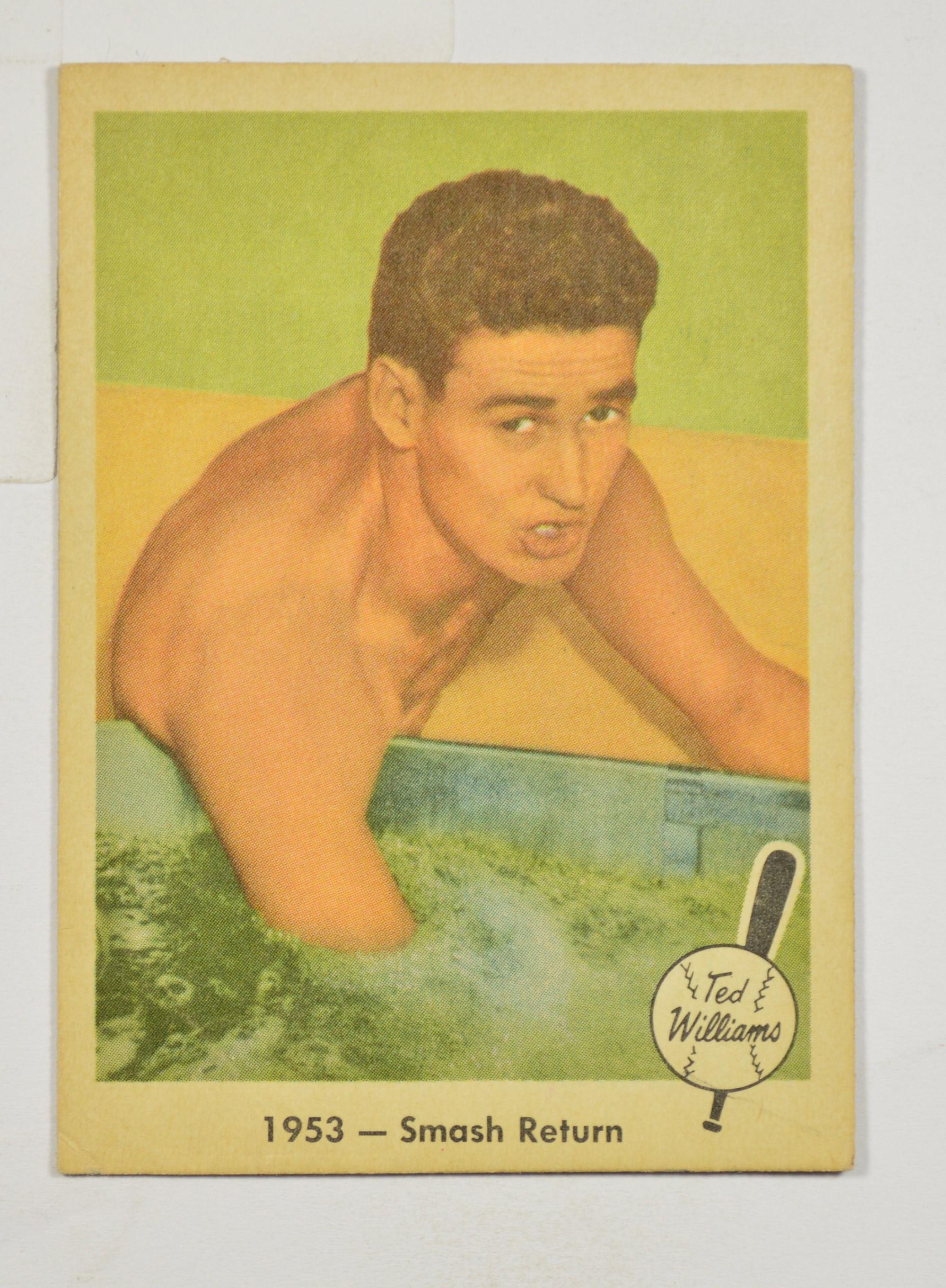 1959 Fleer Ted Williams Baseball Card 49 Property Room