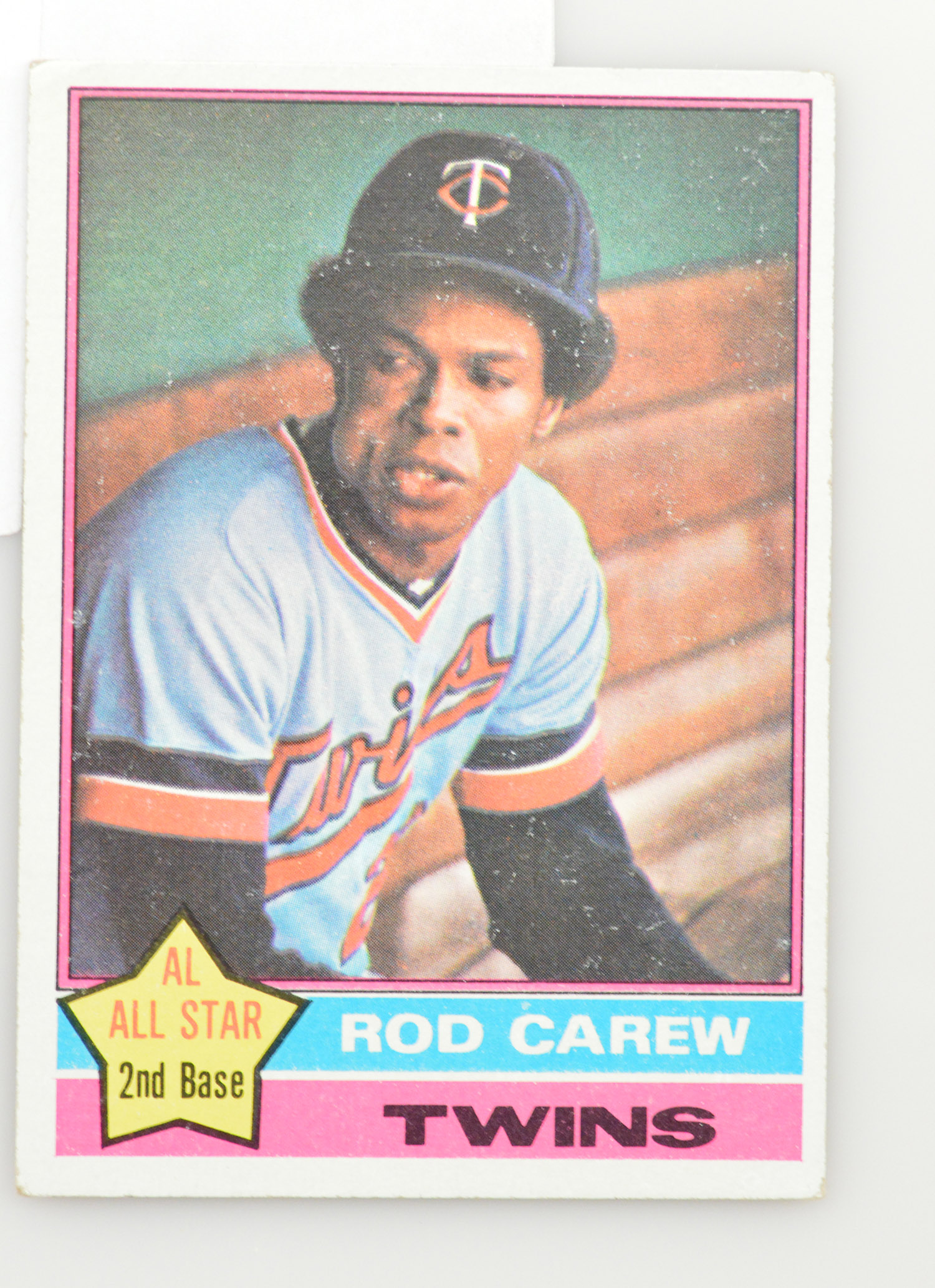 1976 Rod Carew Twins Topps #400 | Property Room