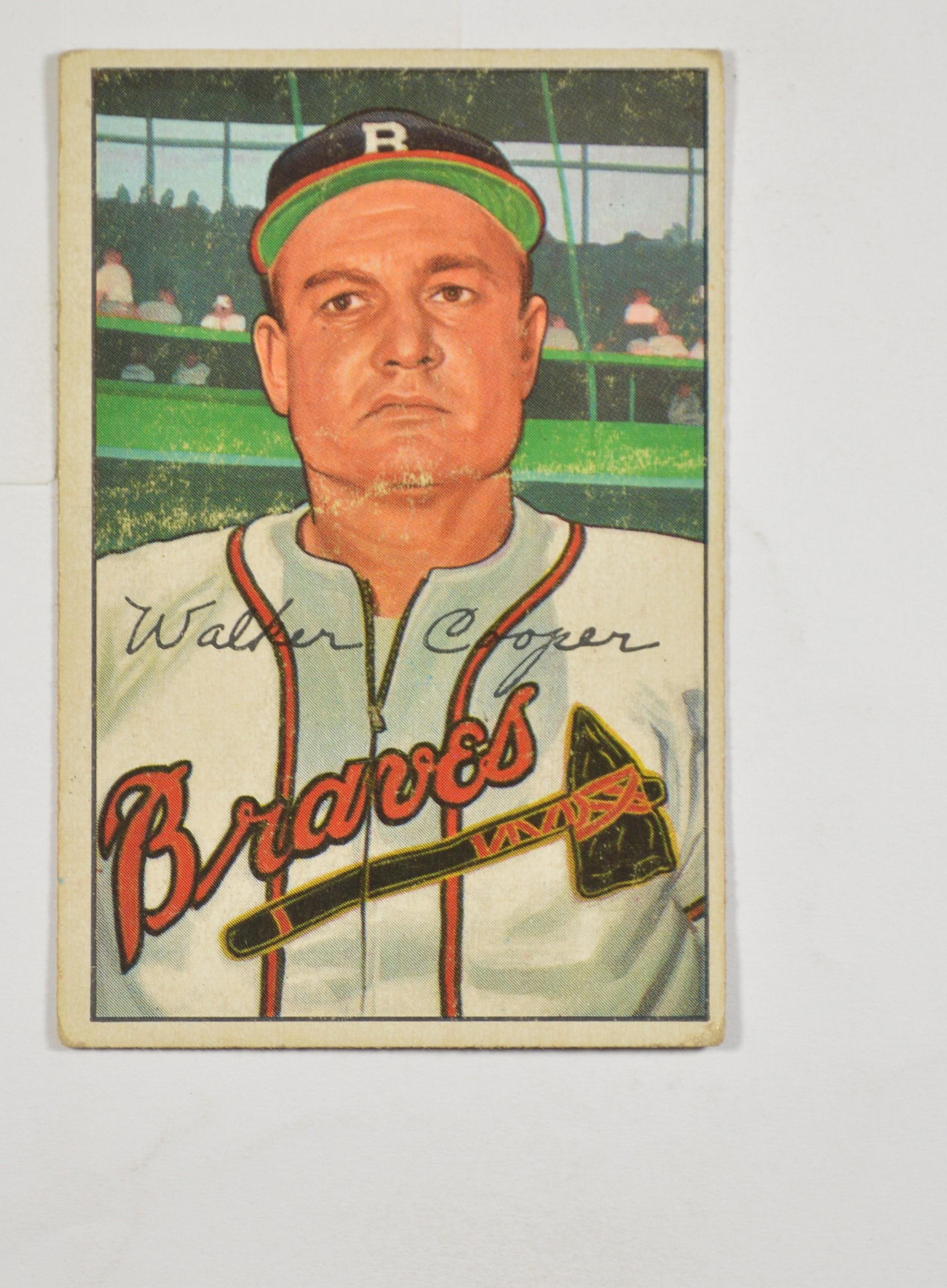 5 SH 1952 Walker Cooper Boston Braves Bowman 208