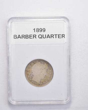 *** 1899 Barber Quarter - Slabbed