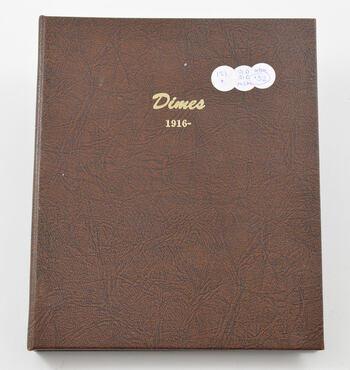 112 Coins 1916-1945 Mercury Dimes Partial Set Collection - 90% Silver