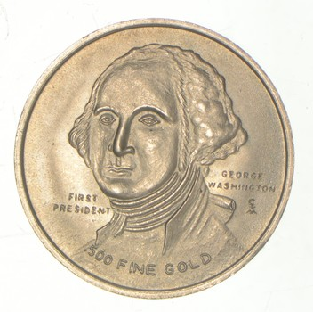 1776-1976 George Washington 2.3 Grams GOLD!