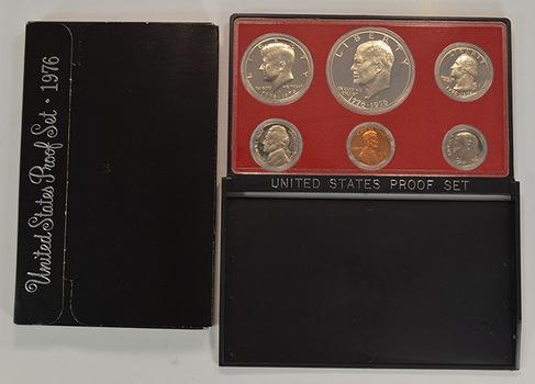 1776-1976-S Bicentennial Six Coin Cameo Proof Set