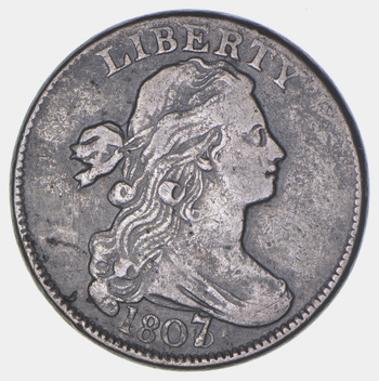 1807 Draped Bust Large Cent - Circulated