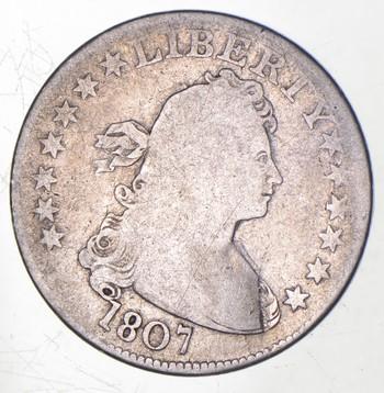 1807 Draped Bust Quarter