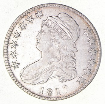 1817 Capped Bust Half Dollar