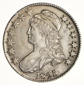 1825 Capped Bust Half Dollar - Choice