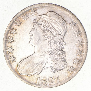 1827/6 Capped Bust Half Dollar