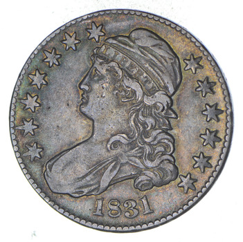 1831 Capped Bust Half Dollar - Circulated