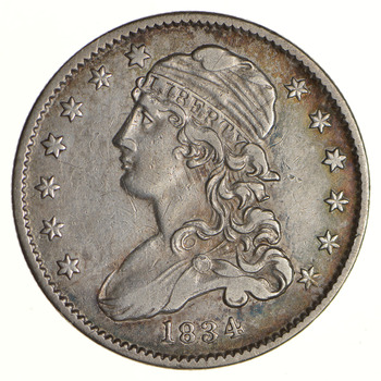 1834 Capped Bust Quarter - Circulated