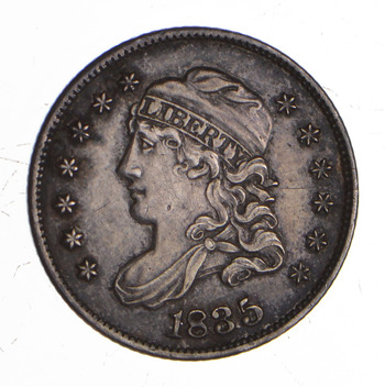1835 Capped Bust Half Dime - Sharp