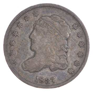 1837 Capped Bust Half Dime - Small 5C