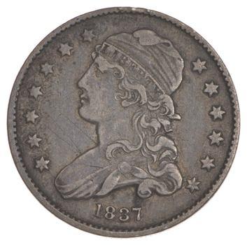 1837 Capped Bust Quarter
