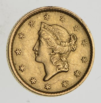 1853 Liberty Head Gold Dollar