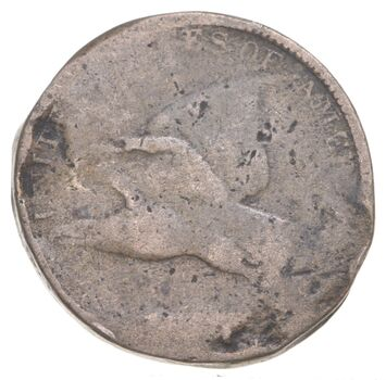 1857 Flying Eagle Cent - Charles Coin Collection
