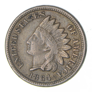 1864 Indian Head Cent - Circulated