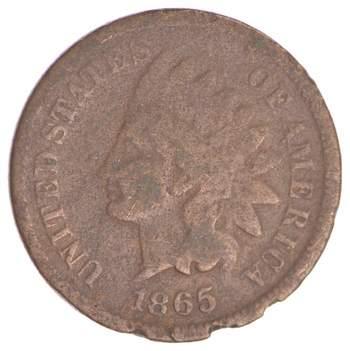1865 Indian Head Cent - Better Date