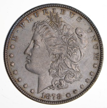 1878 Morgan Silver Dollar - 7TF VAM 84 - Choice