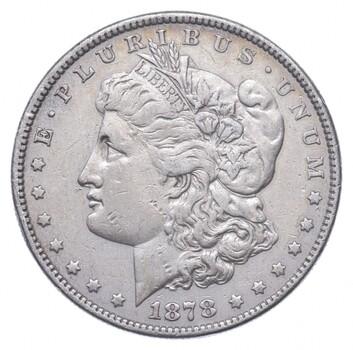 1878 Morgan Silver Dollar - US Coin