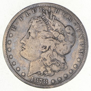 1878-S Morgan Silver Dollar - Long Arrow