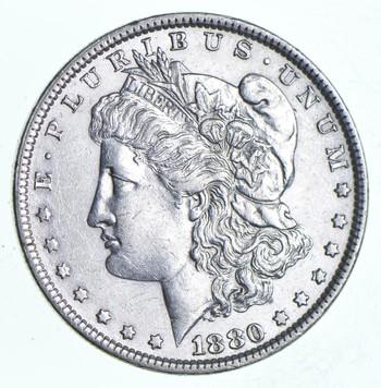 1880 Morgan Silver Dollar - Brother John Coin Collection