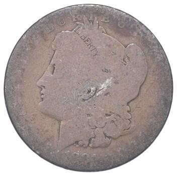 1881-O Morgan Silver Dollar - Sannes Coin Collection