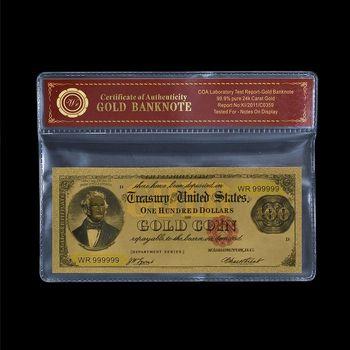 1882 - $100.00 Gold Certificate - United States - Replica Note