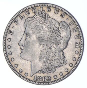 1882 Morgan Silver Dollar - US Coin