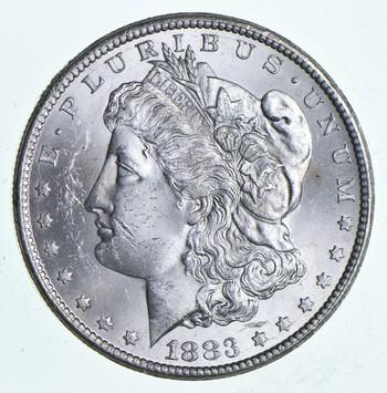 1883-CC Morgan Silver Dollar - Brother John Coin Collection