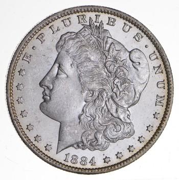 1884-O Morgan Silver Dollar - Uncirculated