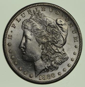 1886-S Morgan Silver Dollar - Uncirculated