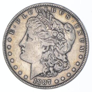 1887 Morgan Silver Dollar - US Coin