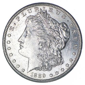 1889-S Morgan Silver Dollar - Choice