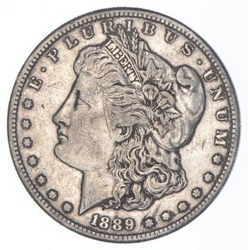 1889-S Morgan Silver Dollar - US Coin